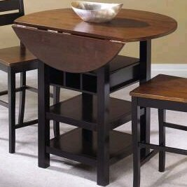 Atwater Solid Wood Dining Table World Menagerie