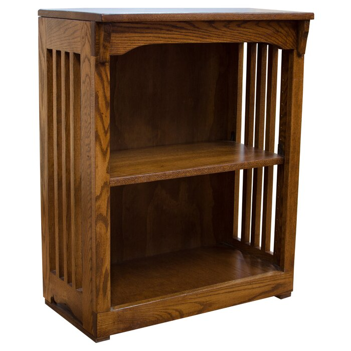 Snellville High Mission Spindle Standard Bookcase