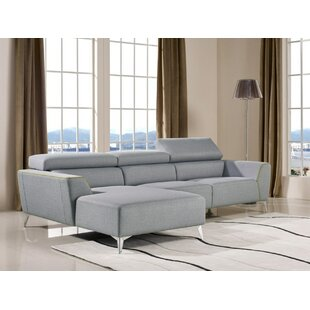 Bever Reclining Sectional by L..