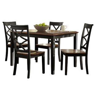 Hagerstown 5 Piece Dining Set by Alcott Hill Herry Up
