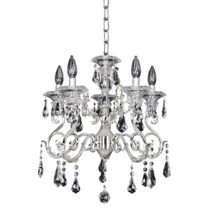 Allegri by Kalco Lighting Haydn 5-Light Candle Style Chandelier