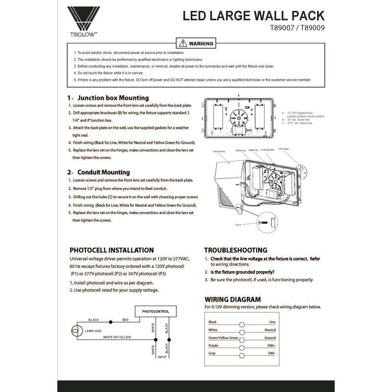 277v photocell wiring diagram