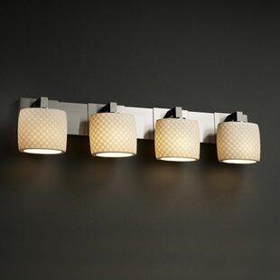 World Menagerie Bismark Contemporary 4-Light Vanity Light
