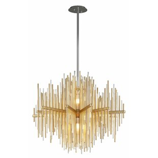 Corbett Lighting Theory 2-Light LED Geometric Chandelier