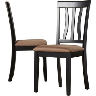 Woodward Side Chair With Cushion (Set Of 2) by Three Posts Great Reviews
