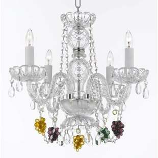 Atherstone 4-Light Elegant Candle Style Chandelier by Astoria Grand