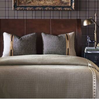 House Of Hampton Jordyn Double Ruffle Duvet Cover Set Wayfair