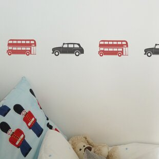 6 Piece London Bus Set By East Urban Home