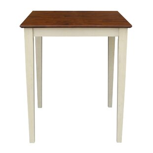 Geneseo Counter Height Pub Table Charlton Home