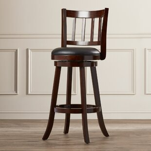 Lancelot 29 Swivel Bar Stool Andover Mills