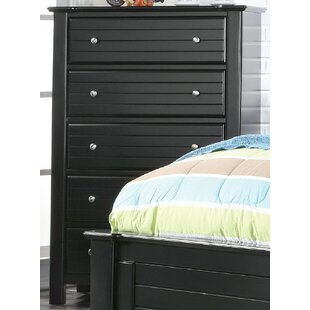 Chicago 5 Drawer Chest by Harriet Bee