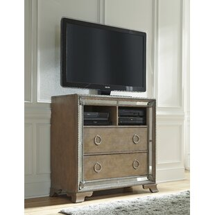 House of Hampton Seman 2 Drawer Media Chest