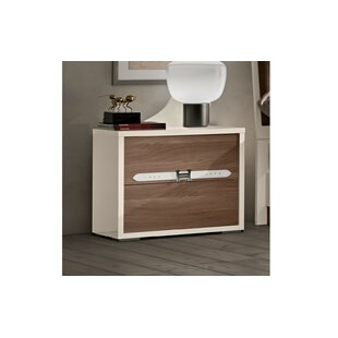 Luther 2 Drawer Nightstand