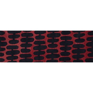 Searching for Earnhart Red/Black Area Rug By Latitude Run