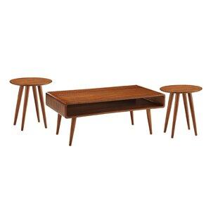 Boraam Industries Inc Svenska 3 Piece Coffee Table Set
