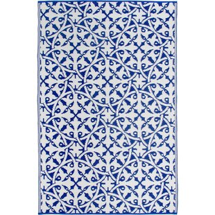 Fontayne Blue Indoor/Outdoor Area Rug