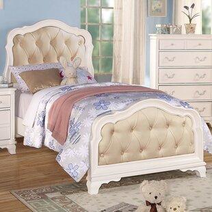 Harriet Bee Kintore Upholstered Panel Bed