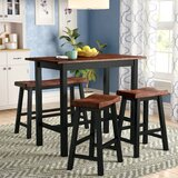 Winsted 4 Piece Counter Height Dining Set by Red Barrel Studio®