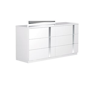 Global Furniture USA Jody 6 Drawer Double Dr..