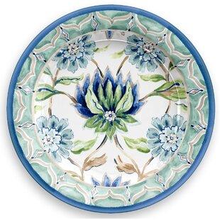 Sikandra Floral Heavy Mold 8.5\  Melamine Salad Plate (Set of 6)  sc 1 st  Wayfair & Acrylic \u0026 Melamine Plates \u0026 Saucers You\u0027ll Love   Wayfair