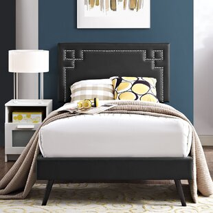 Everly Quinn Kerley Twin Upholstered Platform Bed