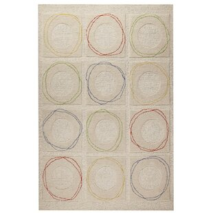 Low priced Circa Hand-Tufted Wool Area Rug By Hokku Designs