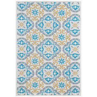 New Hartford Gray/Blue Indoor/Outdoor Area Rug