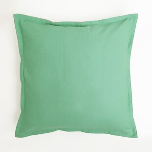 Vinci Canvas Two-Tone 100% Cotton Pillow Cover