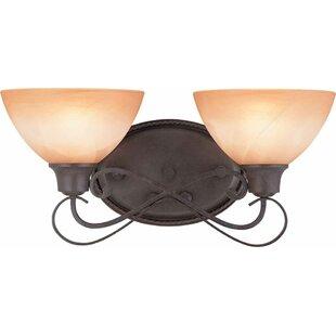 Altamonte 2-Light Vanity Light by Volume Lighting