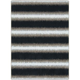 Affordable One-of-a-Kind Frasher Hand Woven Black/White Area Rug By Ivy Bronx