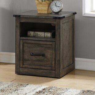 Jigna 1 Drawer Mobile Vertical Filing Cabinet by Gracie Oaks