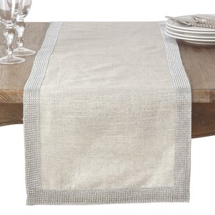Caledonia Modern Block Stripe Table Runner