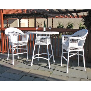 Camacho 3 Piece Bar Height Dining Set