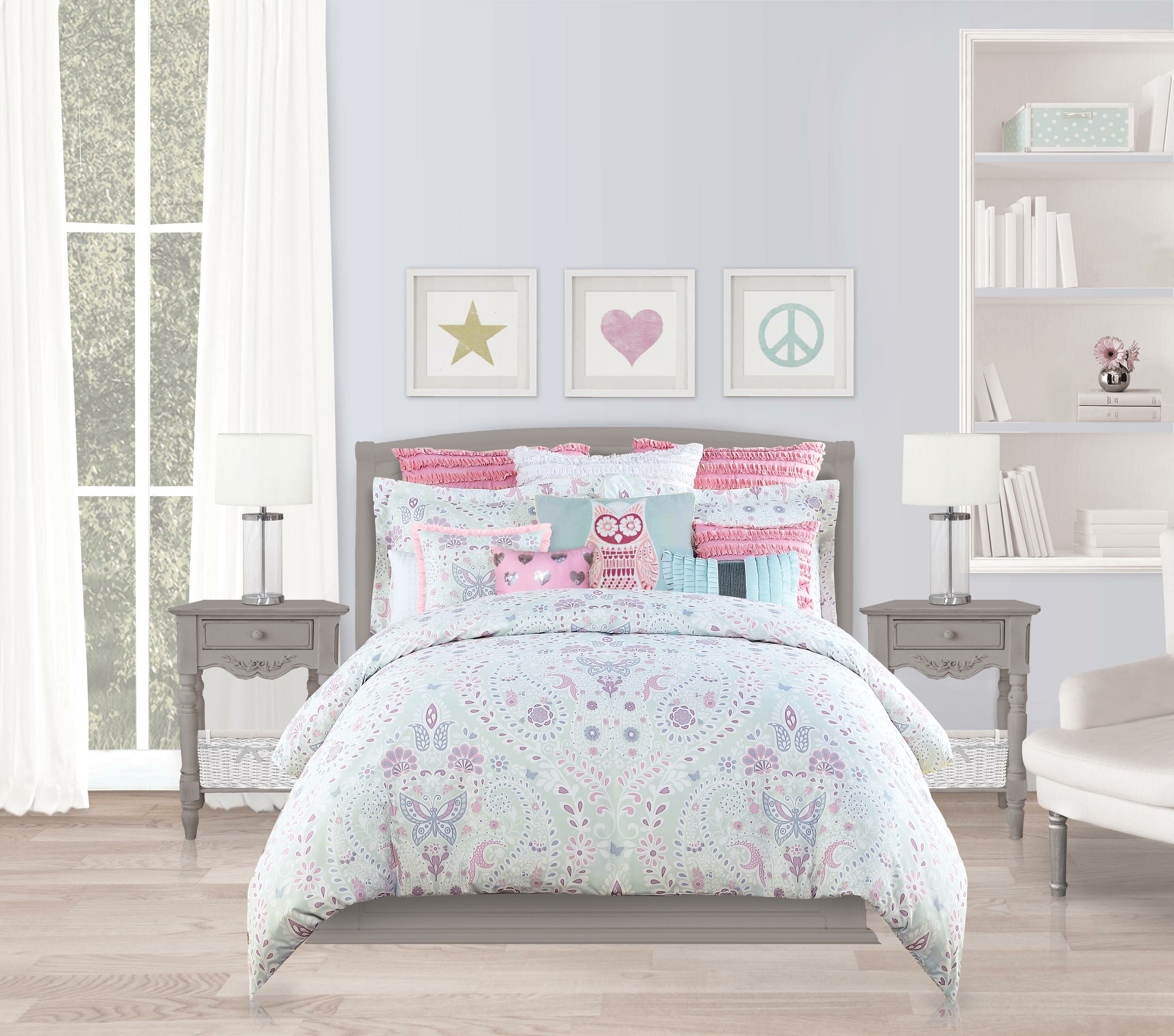 comforter pin your mira updated liven the set duvet mini ink paisley bedroom in up with ivy cover