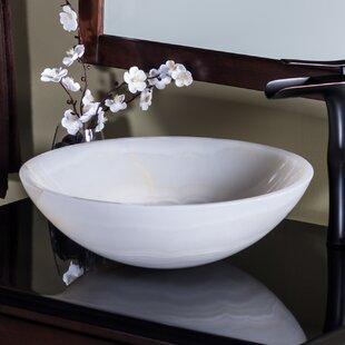 Blue And White Vessel Sink | Wayfair