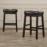 Goberd 24 Bar Stools (Set of 2) by Charlton Home®