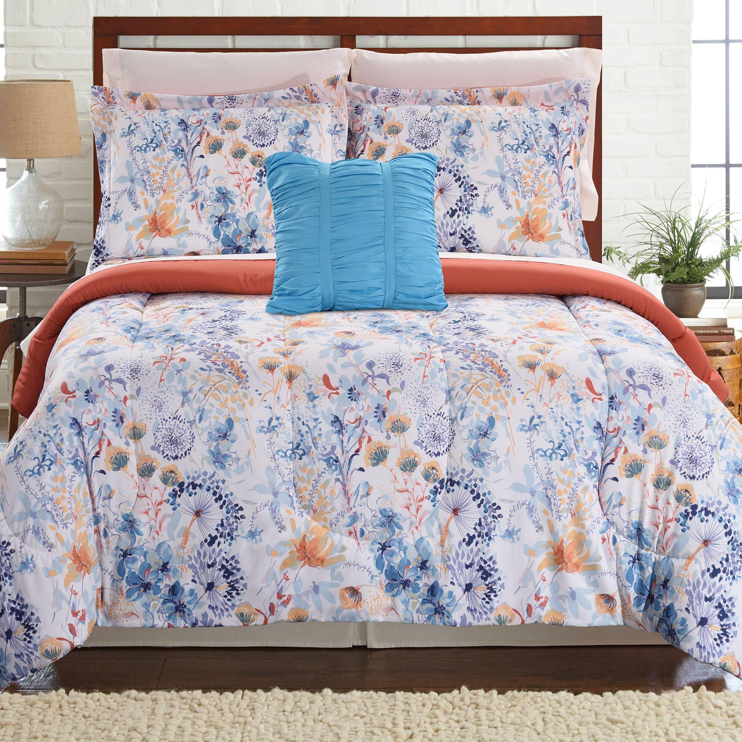 Ebern Designs Armonie Reversible Comforter Set Wayfair