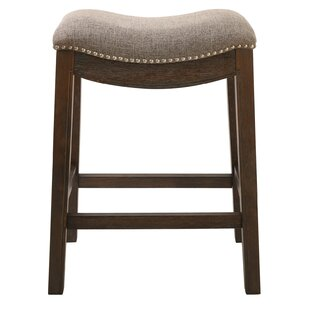 Mcgreevy Saddle Style Counter Height 25 Bar Stool Charlton Home