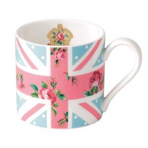 Cheeky Pink Union Jack Modern Mug