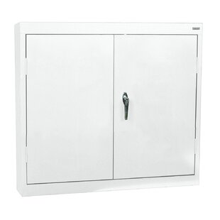 Wall 2 Door Storage Cabinet by Sandusky Cabinets