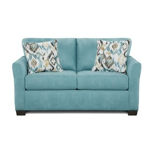 Conann Sensations Capri Loveseat by Bungalow Rose