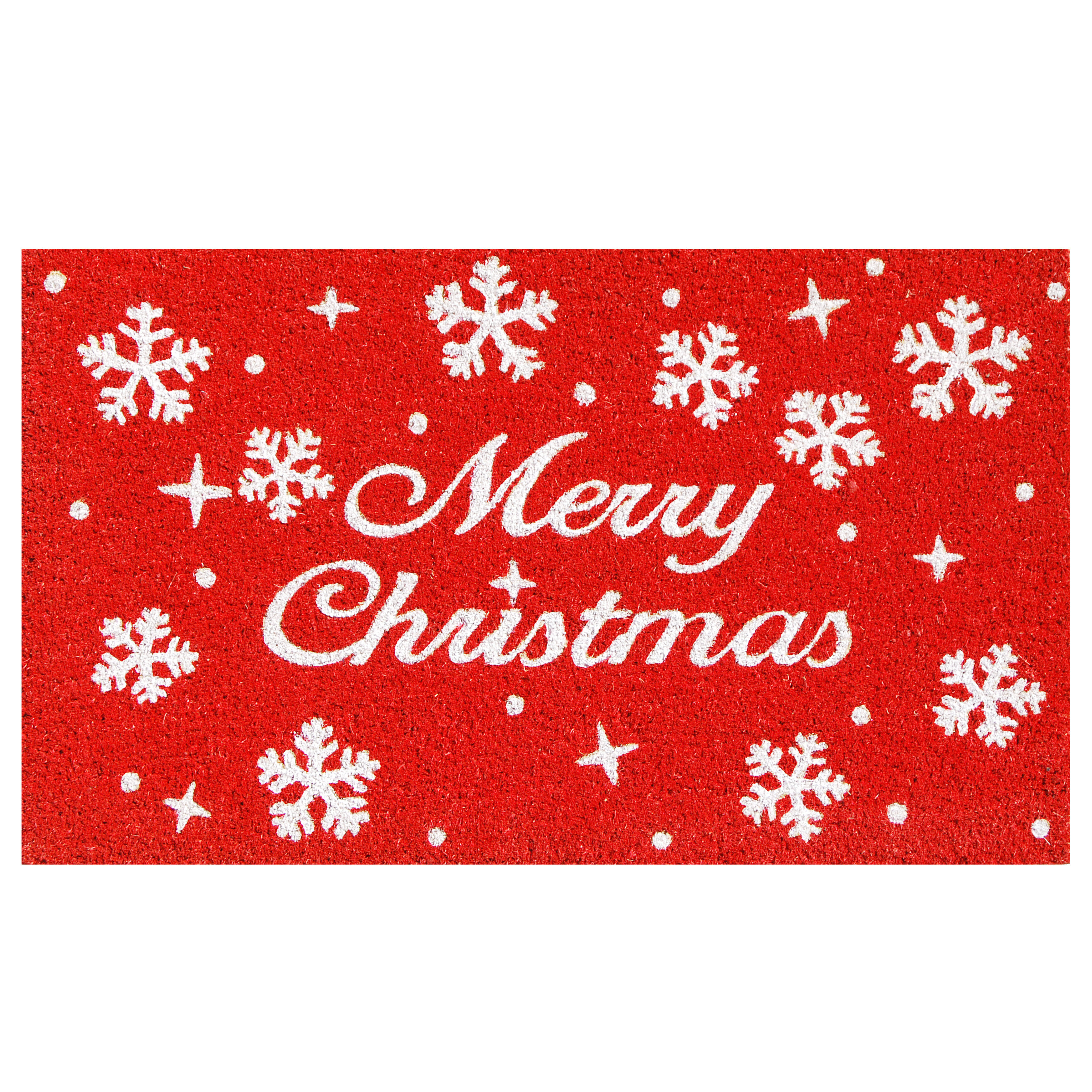 The Holiday Aisle Mayle Christmas Stars 29 In X 17 In Non Slip Outdoor Door Mat Reviews Wayfair