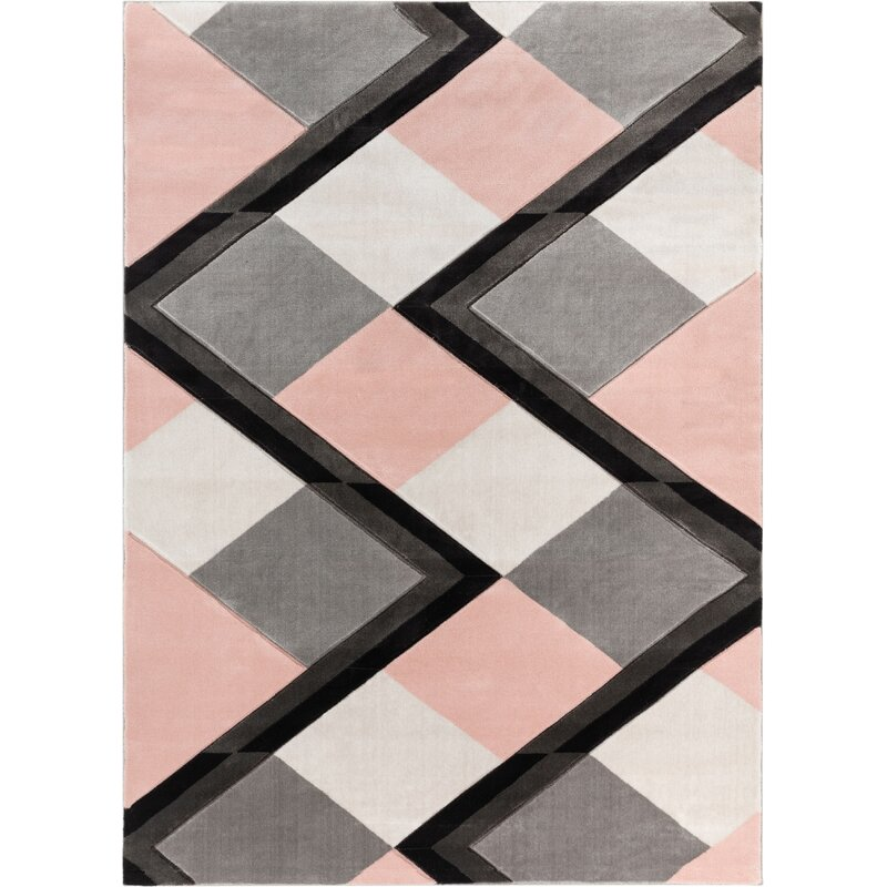 Well Woven Good Vibes Nora Modern Geometric Stripes And Boxes