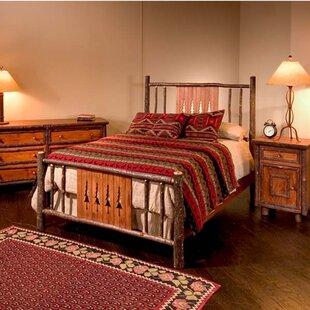 Nina Pine Tree Panel Bed
