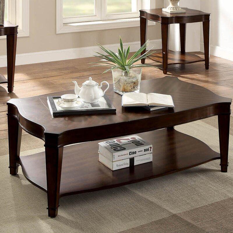 Charmant Recio Curved Coffee Table