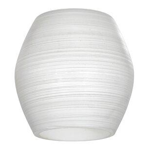 Glass table floor lamp shades wayfair my choice glass shade aloadofball Gallery