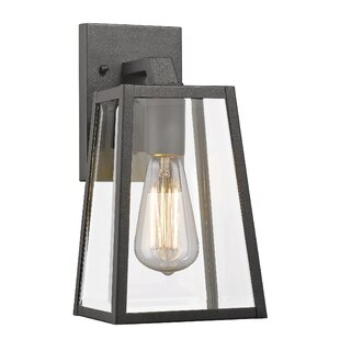 Modern contemporary outdoor wall lighting youll love wayfair modern contemporary outdoor wall lighting aloadofball Image collections
