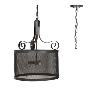 17 Stories Norma 3-Light Pendant