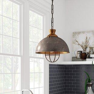 Laurel Foundry Modern Farmhouse Olathe 1-Light Bowl Pendant