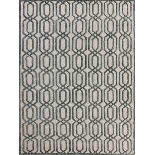 Inexpensive Carlstadt White Area Rug By Mercer41